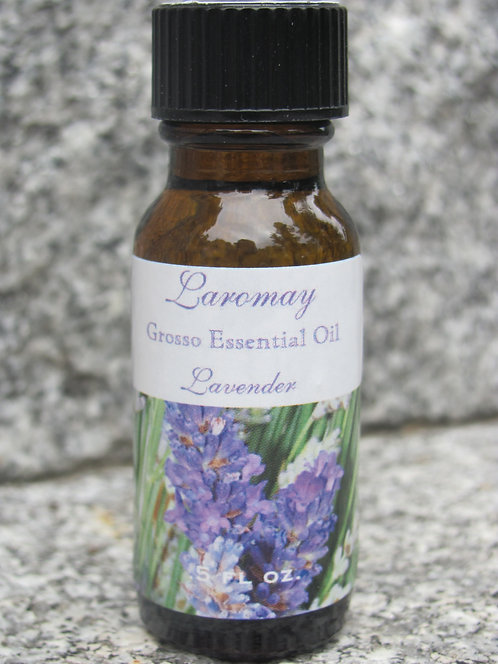 100% Organic Pure Grosso Essential Oil  .5oz