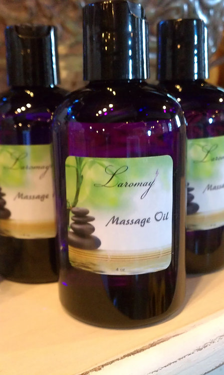 Organic Lavender Massage Oil  4 oz
