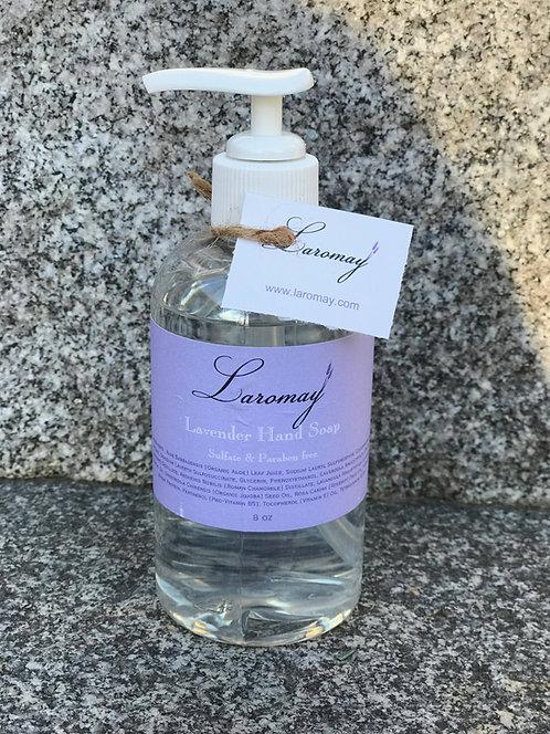 Liquid Lavender Soap 8 oz