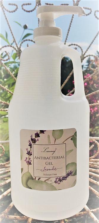 1/2 Gallon Lavender Antibacterial Gel with pump