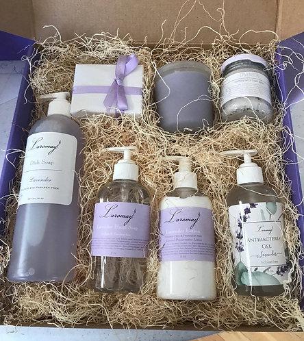Large Lavender Pamper box
