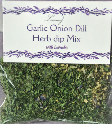 Garlic Onion Dill Herb Dip Mix