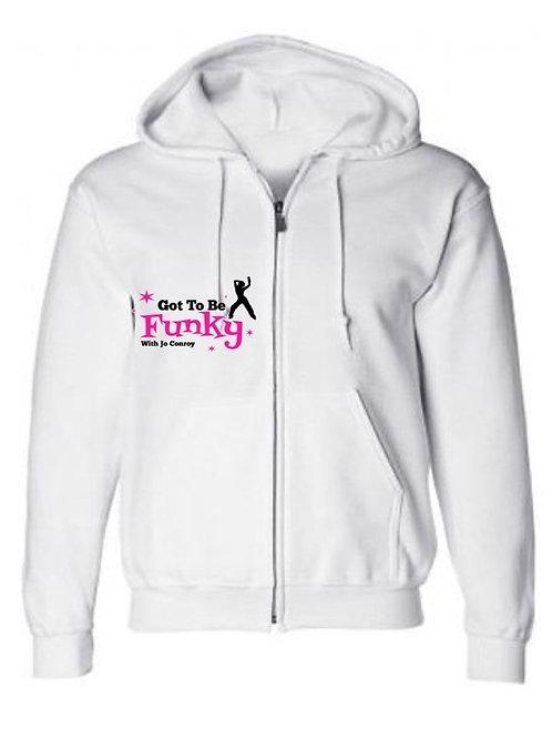 Zip Up Hooded Jumper