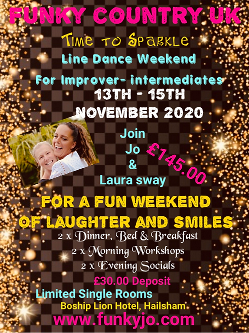 Sparkle Weekend With Guest Choreographers Laura Sway & Jo Conroy