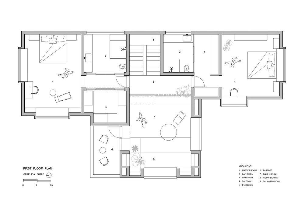 T House - First Floor Plan