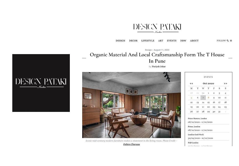 Design Pataki - T House