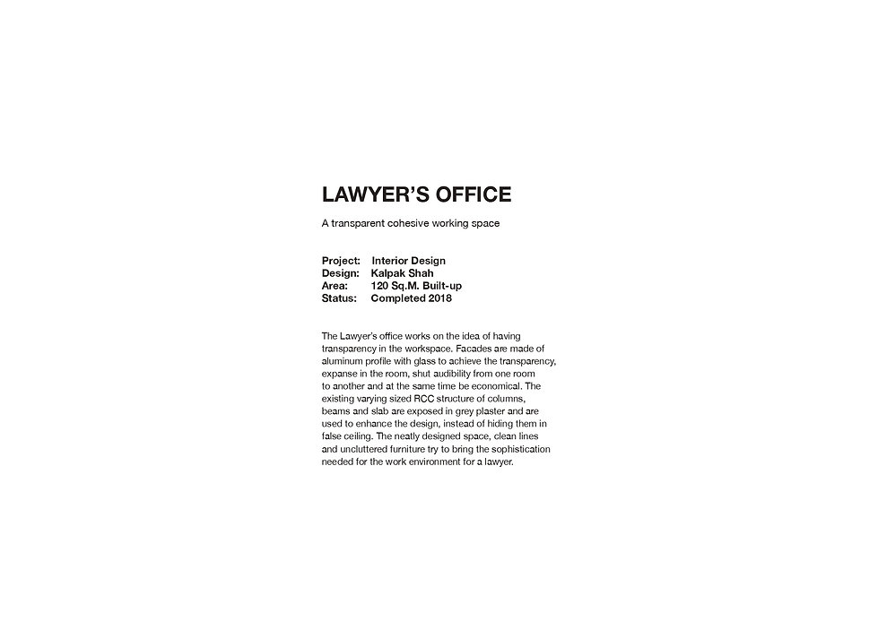 Lawyer's Office - Introduction