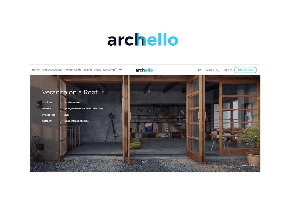 Archello - Veranda on a roof
