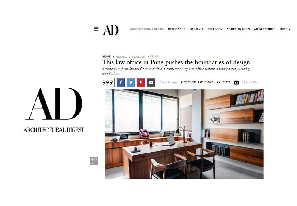 Architectural Digest - Lawyer's Office
