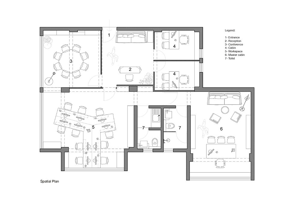 Lawyer's Office - Plan