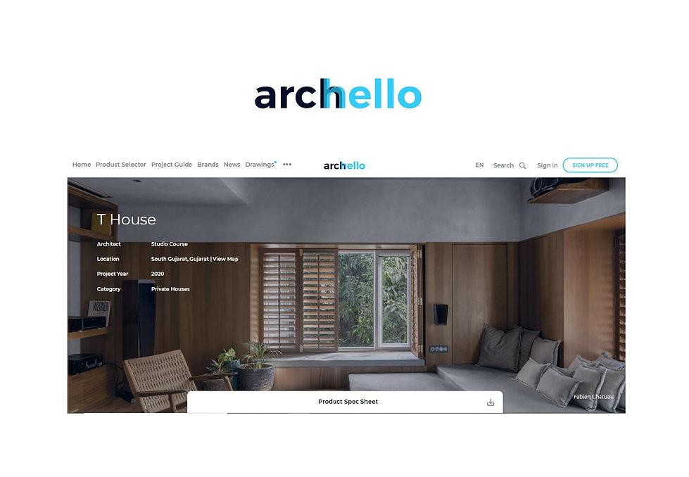 Archello - T House