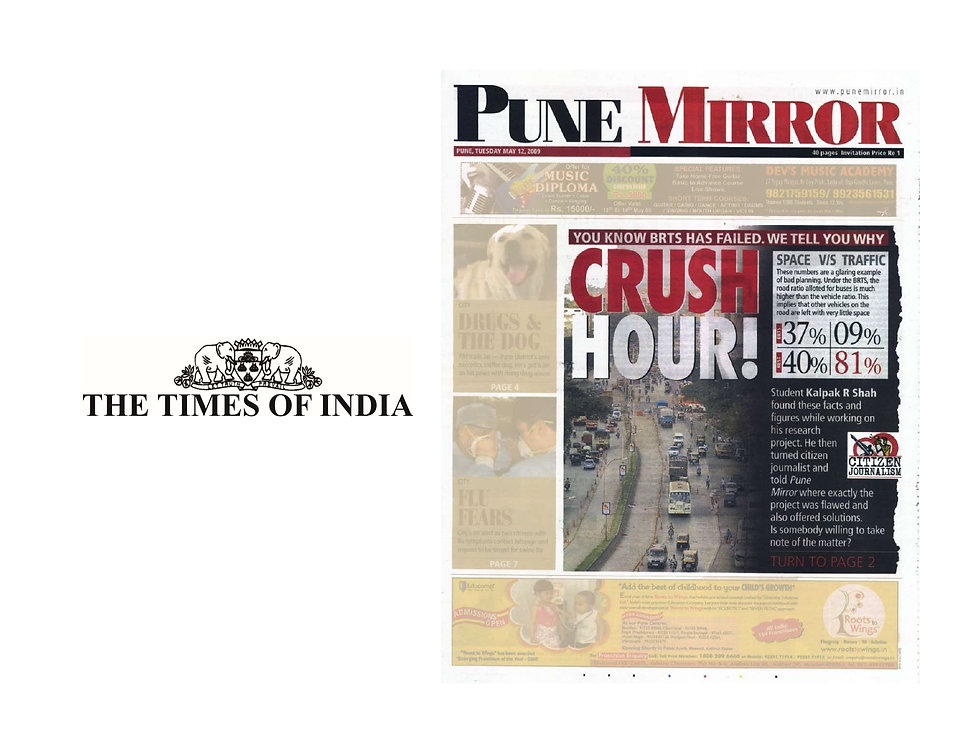 TOI - Pune Mirror