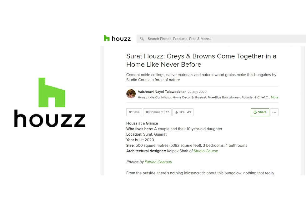 Houzz - Surat House - T House