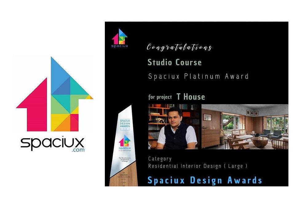 Spaciux Platinum Award 2020