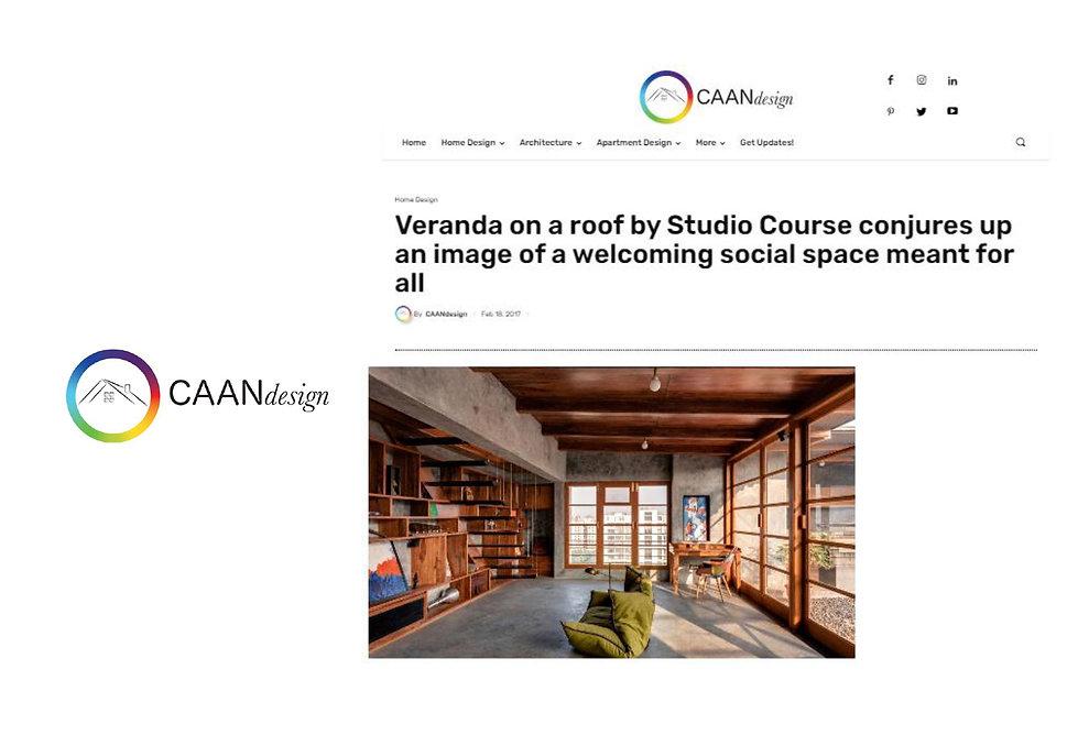 CAAN Design - Veranda on a roof