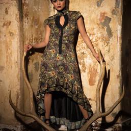 Green Occult Dress