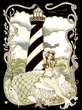 Pinup Lighthouse