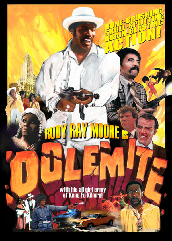 Dolemite Movie Art