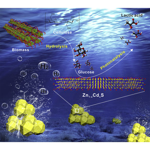 Rational photocatalyst design for biomass valorization and H2 coproduction
