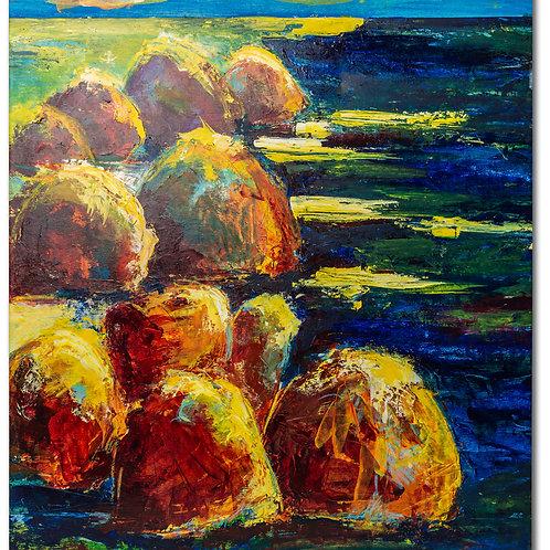 Sten og vand Drejø
