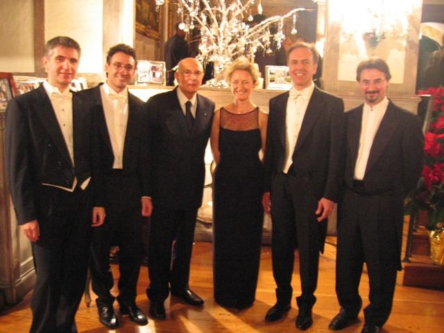 Con il Presidente Napolitano