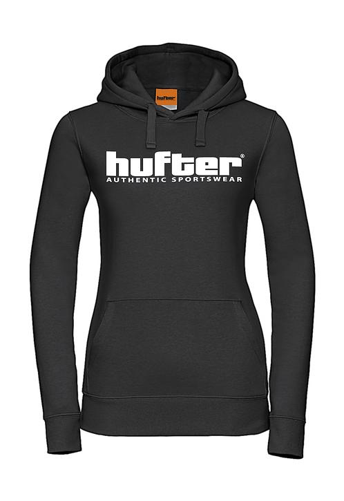 Hooded sweater zwart
