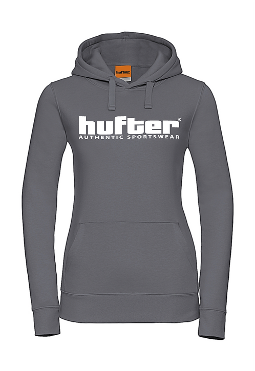Hooded sweater antraciet