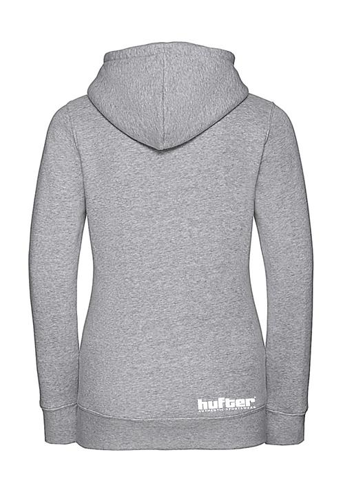 Hooded sweater lichtgrijs