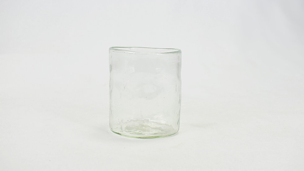Medium Glass Tumbler - Clear