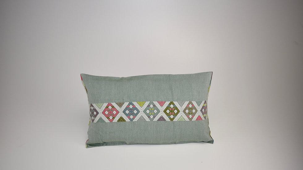 Pillow Universo - Verde Gris Luna