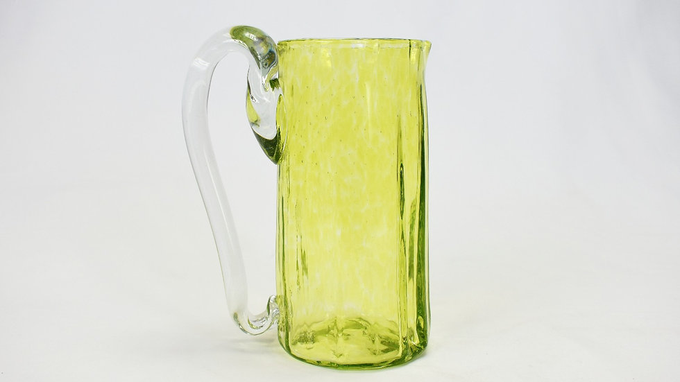 Glass Pitcher - Lime