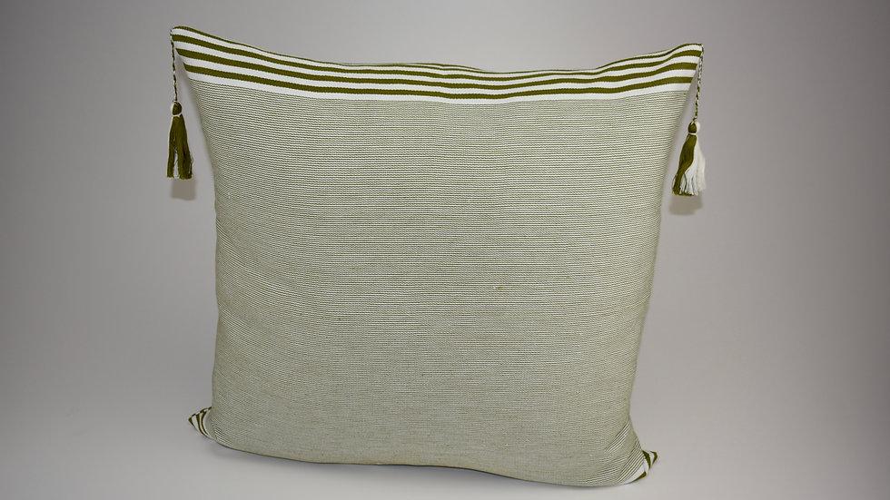 Pillow Lupita - Verde olivo Reina