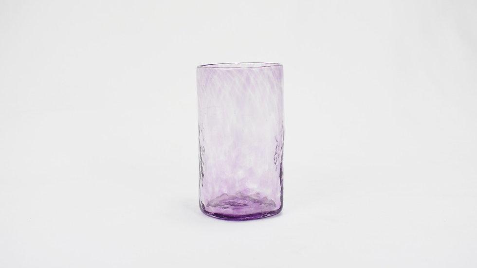 Large Glass Tumbler - Violet