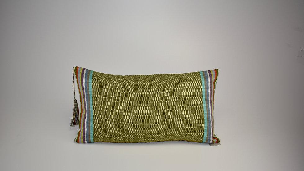 Pillow Juana - Verde Olivo Reina