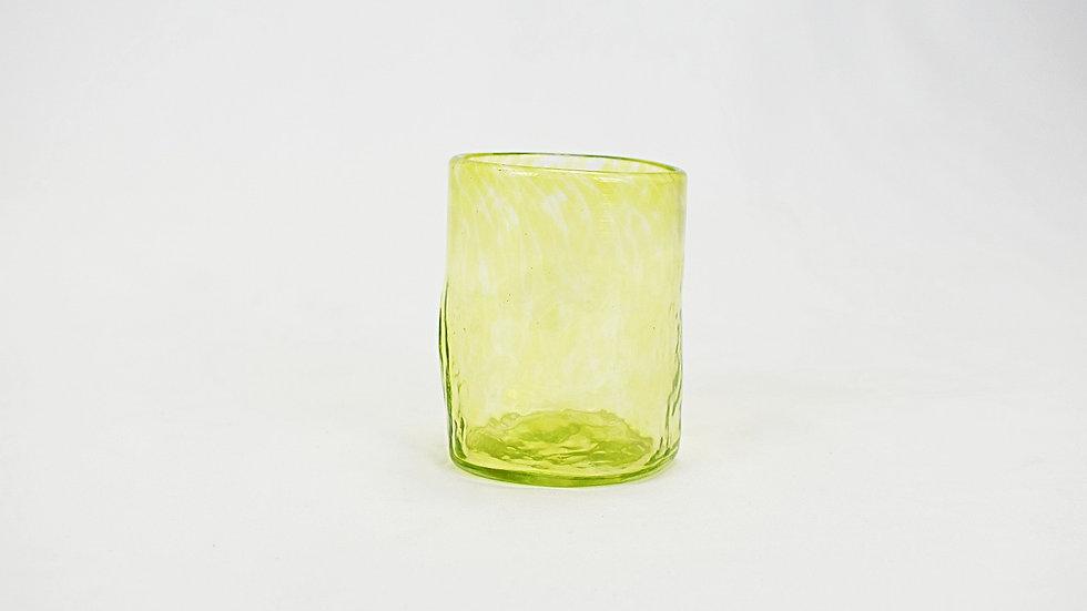 Medium Glass Tumbler - Lime