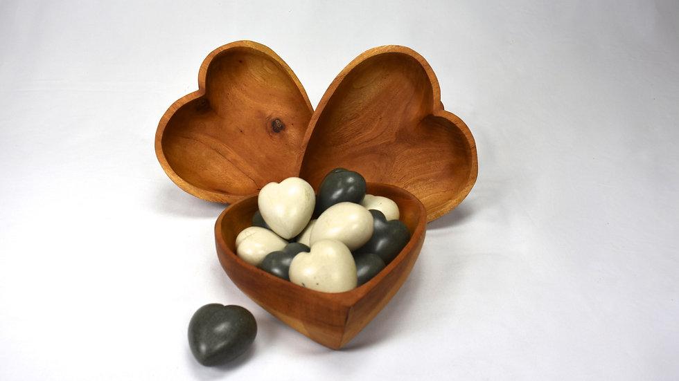 Small Soapstone Hearts