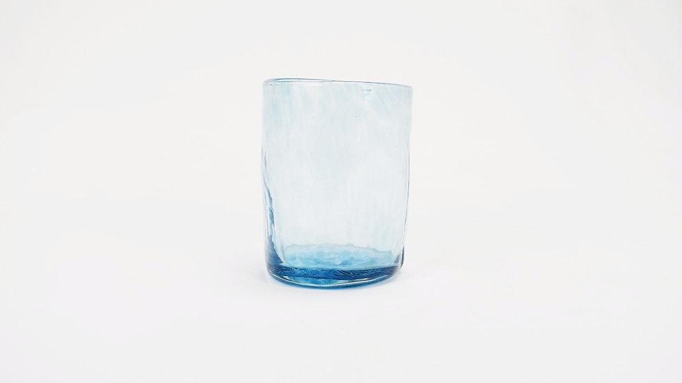 Medium Glass Tumbler - Turquoise