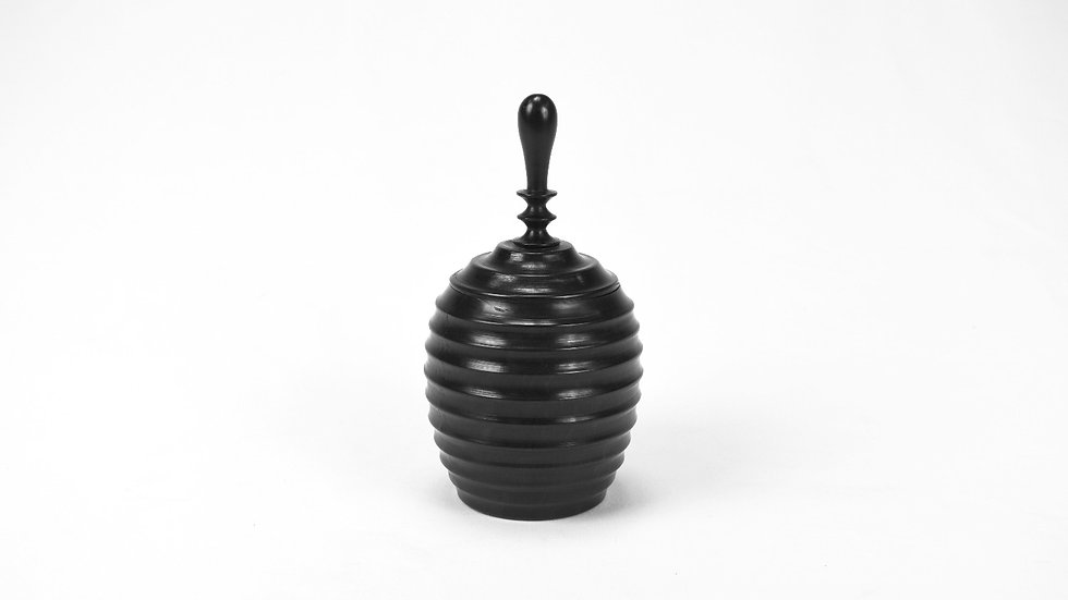 Large Ebony Sugar Bowl Classic