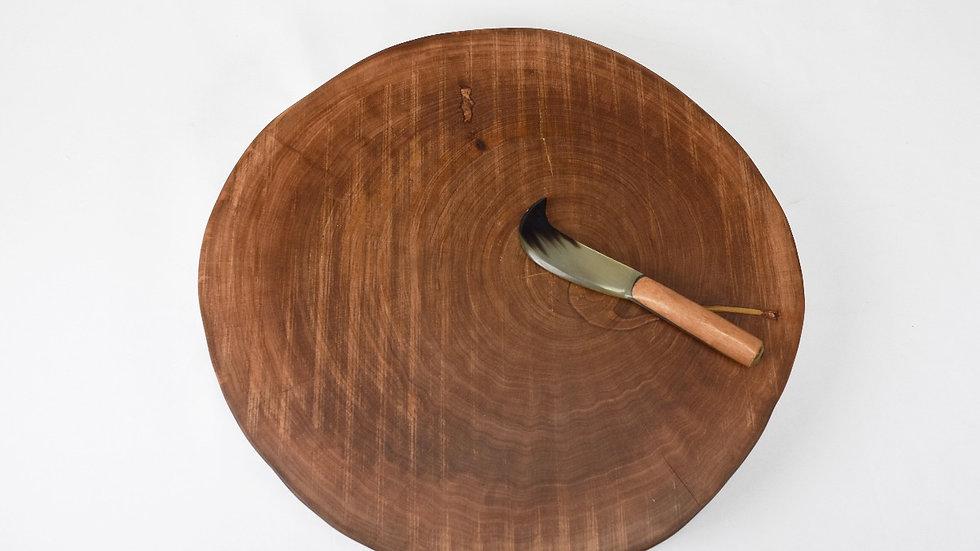 Medium Tree Slice Serving Platter