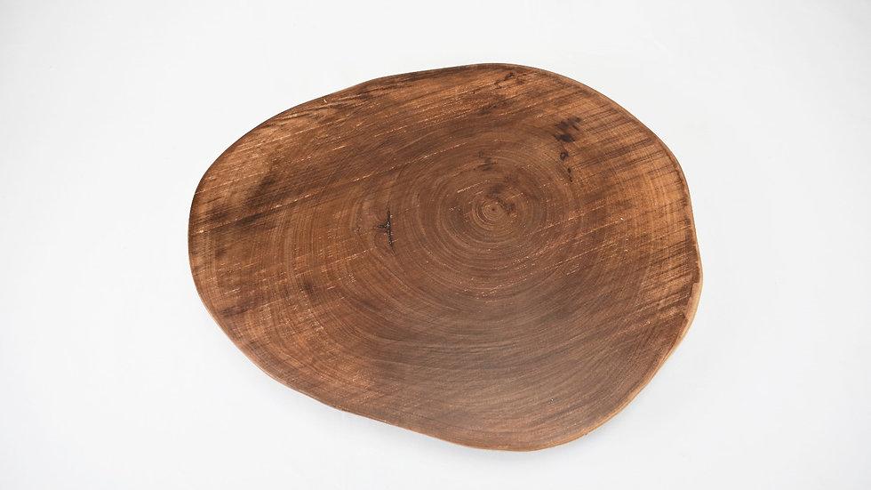 Large Tree Slice Serving Platter