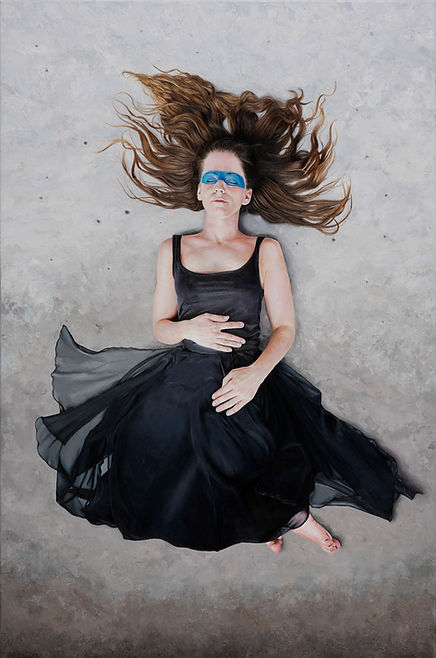Claudia Kaak, Survivor, Oil on canvas, 1