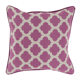 Geo Print Throw Pillow