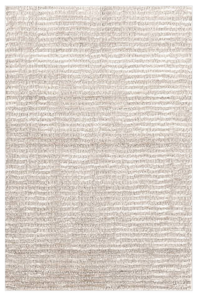 Dash & Albert Cut Stripe Ivory Rug