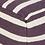 Thumbnail: Striped Wool Pouf