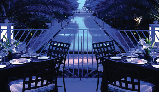 National Hotel Poolside Dining