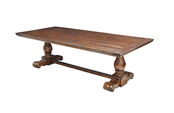 Cavalleria Antique Wood Dining Table