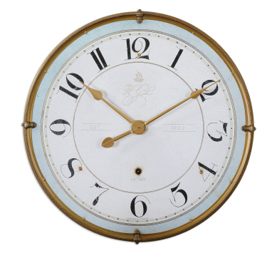 Torriana Pastel Wall Clock