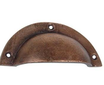 Restoration Rust Bin Pull