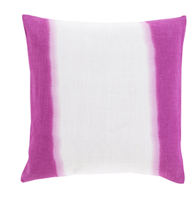 Double Dipped Linen Throw Pillow