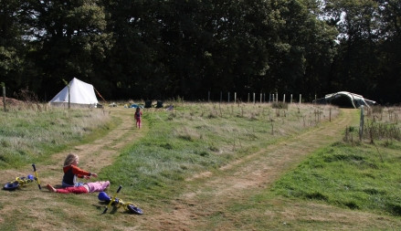 Real Camping in Sussex